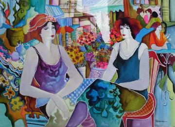 Untitled Watercolor 2002 48x40 Watercolor by Patricia Govezensky
