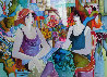 Untitled Watercolor 2002 48x40 Watercolor by Patricia Govezensky - 0