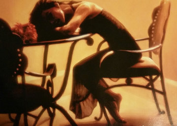 Restful Silhouette 2009 Limited Edition Print - Carrie Graber