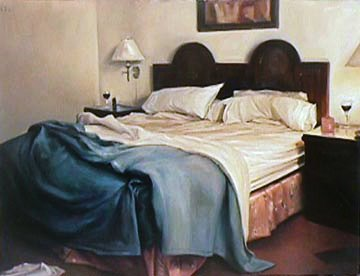Mission 2002 37x43 Super Huge Original Painting - Carrie Graber