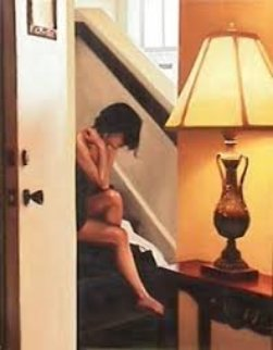 Contemplation 2003 Limited Edition Print by Carrie Graber