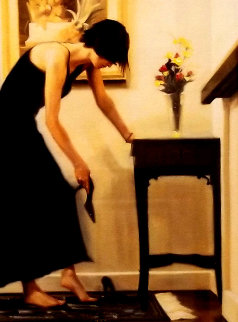 Getting Ready 2002 Limited Edition Print by Carrie Graber