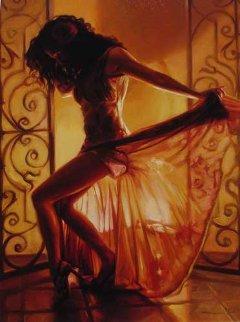 Let's Dance 2005 Embellished Limited Edition Print - Carrie Graber