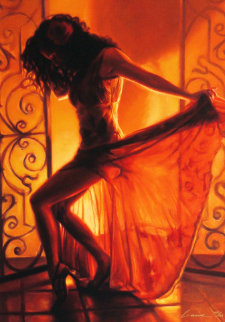 Let's Dance 2005 Embellished Limited Edition Print - Carrie Graber