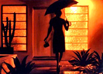 Warm Rain Limited Edition Print - Carrie Graber