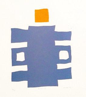 Ruku II Suite of 4 1967 Limited Edition Print - Werner Graeff