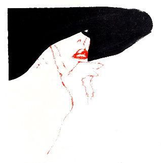 Esquisse De Brigit 1988 Limited Edition Print - Rene Gruau