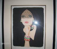 La Voilette / The Veil Limited Edition Print by Rene Gruau - 1
