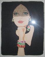 La Voilette / The Veil Limited Edition Print by Rene Gruau - 2