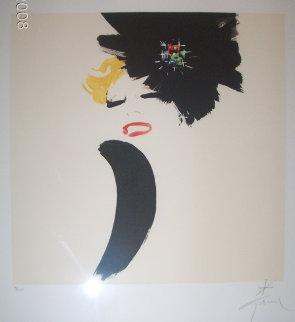 LuLu Limited Edition Print - Rene Gruau