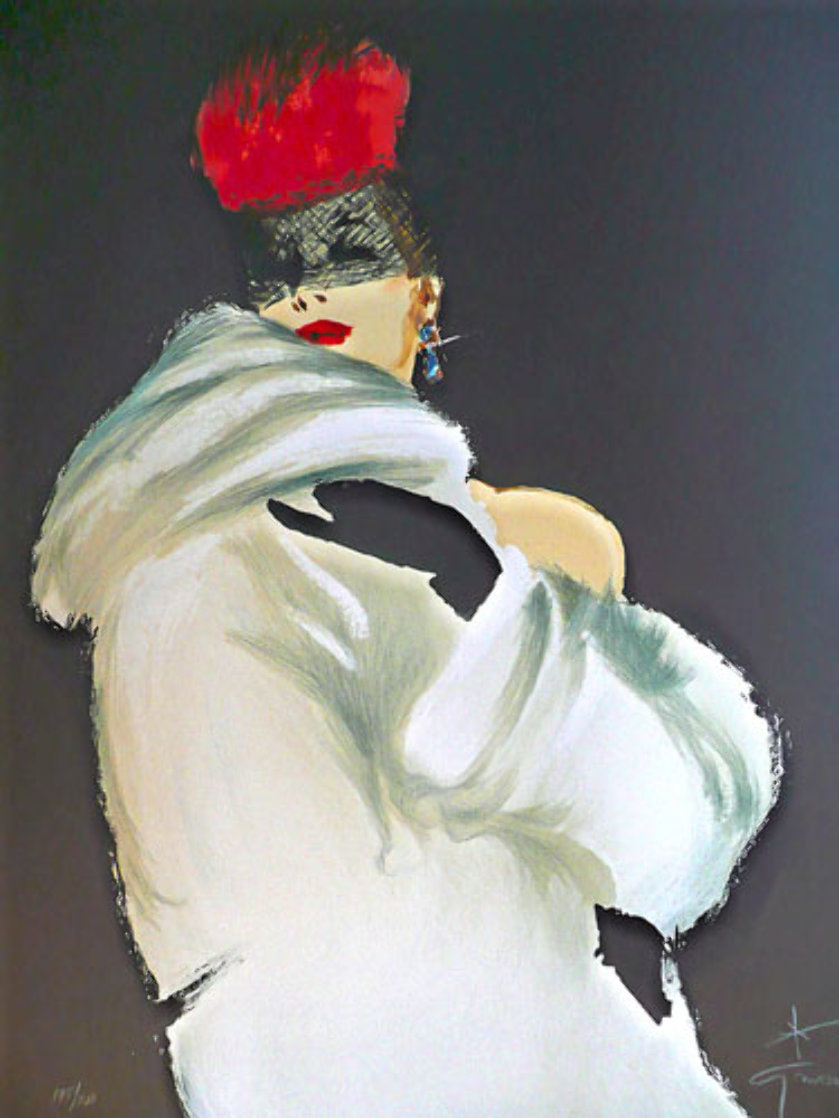 La Toque Rogue 1989 Limited Edition Print by Rene Gruau