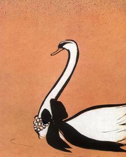 Miss Dior Swan Limited Edition Print - Rene Gruau