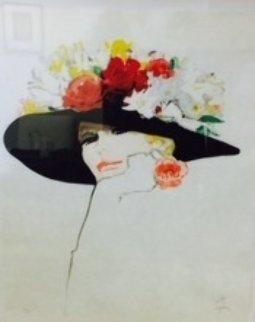 La Rose Rouge 1987 Limited Edition Print by Rene Gruau