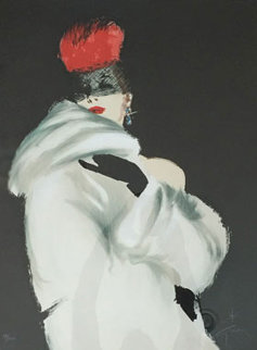La Toque Rouge 1989 Limited Edition Print by Rene Gruau