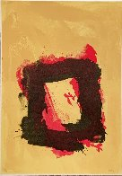 Untitled Square 1981 Limited Edition Print by Cleve Gray - 1