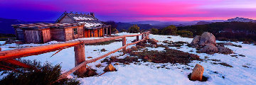 Craigs Hut Panorama by Mark Gray
