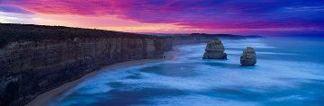 Gibsons Beach Sunrise - 12 Apostles Panorama by Mark Gray