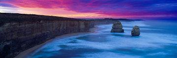 Gibsons Beach Sunrise - 12 Apostles Panorama by Mark Gray