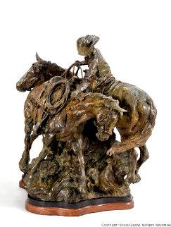 First Dance Bronze Sculpture 26 in Sculpture - Bruce Greene