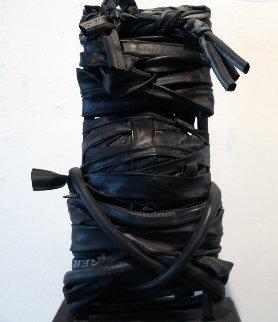 Self Portrait in Rubber Sculpture 2010 22 in   Sculpture - Gregory Coates