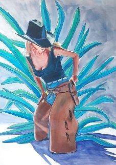 Miss Congeniality 2004 33x26 Watercolor - Tom Gress