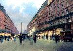 Place De Bastille, Paris, France 2014 19x24 Original Painting - Vasily Gribennikov