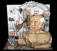 Picasso  Lithographic Sculpture 3-d 1997 23 in Sculpture by Red Grooms - 4