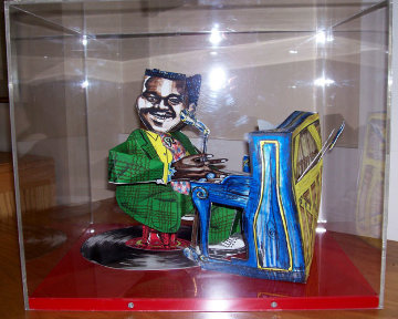 Fats Domino 3-D 1984 Limited Edition Print - Red Grooms