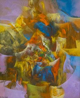 Creation III 2006 47x39 Original Painting by Eduard Grossman