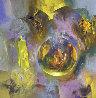 Creation II 2008 42x42 Original Painting by Eduard Grossman - 0