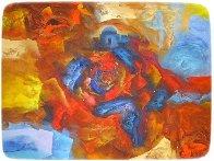 Passionate Evening 39x46 Super Huge Original Painting by Eduard Grossman - 1