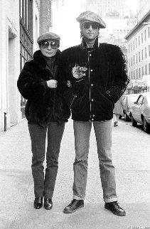 John Lennon Yoko Ono Nyc December 1980 Photography - Bob Gruen