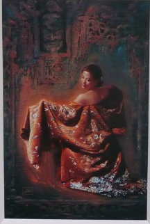Mask 1999 42x28 Super Huge  Limited Edition Print - George Tsui