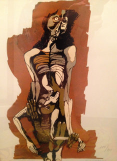 Madre India Limited Edition Print - Oswaldo Guayasamin