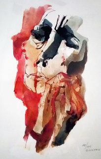 Mother  (Nina Llorando)1980 Limited Edition Print - Oswaldo Guayasamin