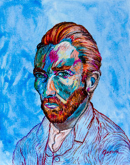 Vincent 2019 36x24 Original Painting by James Gucwa