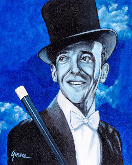 Fred Astaire 2019  36x24 Original Painting - James Gucwa