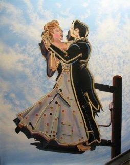 Ballroom Dancing 2011 48x38 Super Huge Original Painting -