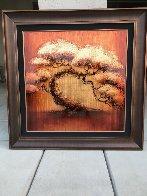 Golden Tree Series 2012 40x40 Huge Original Painting by Patrick Guyton - 2
