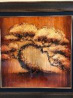 Golden Tree Series 2012 40x40 Huge Original Painting by Patrick Guyton - 1