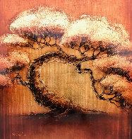Golden Tree Series 2012 40x40 Huge Original Painting by Patrick Guyton - 0
