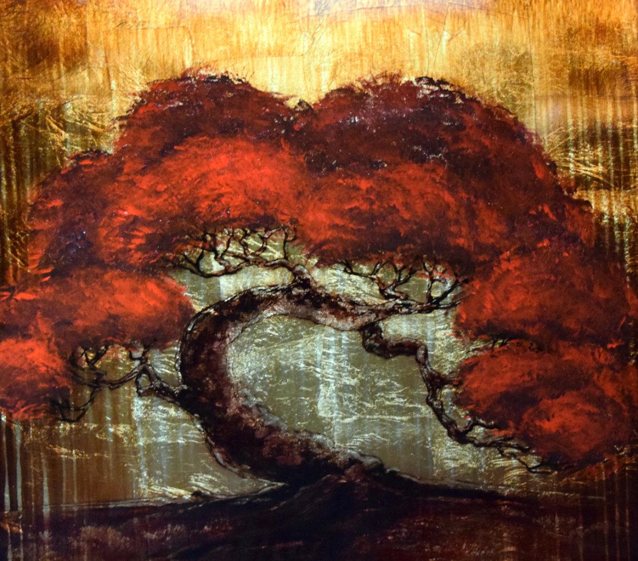 Gold Tree 2013 30x30 Original Painting by Patrick Guyton