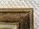 Mini Bird Series (Gold) 2013 17x15 Original Painting by Patrick Guyton - 2