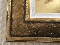 Mini Bird Series (Gold) 2013 17x15 Original Painting by Patrick Guyton - 3