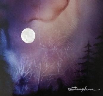 Moonlight 2015 11x12 Original Painting by Patrick Guyton