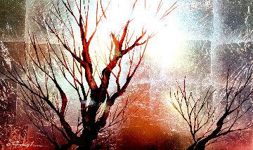 Dawn V128 2011 18x30 Original Painting - Patrick Guyton