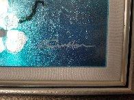 Mini Bird Series (Blue) 2013 10x8 Original Painting by Patrick Guyton - 4