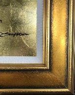 Mini Bird Series (Gold) 2013 17x15 Original Painting by Patrick Guyton - 4
