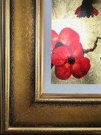 Mini Bird Series (Gold) 2013 17x15 Original Painting by Patrick Guyton - 5