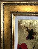 Mini Bird Series (Gold) 2013 17x15 Original Painting by Patrick Guyton - 6